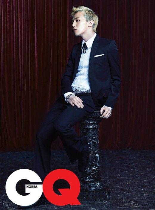 BIGBANG's G-Dragon GQ Korea Magazine April Issue '11