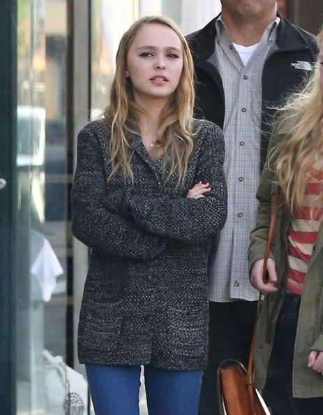 Lily-Rose Depp - Lily-Rose Depp Out With Friends In West Hollywood