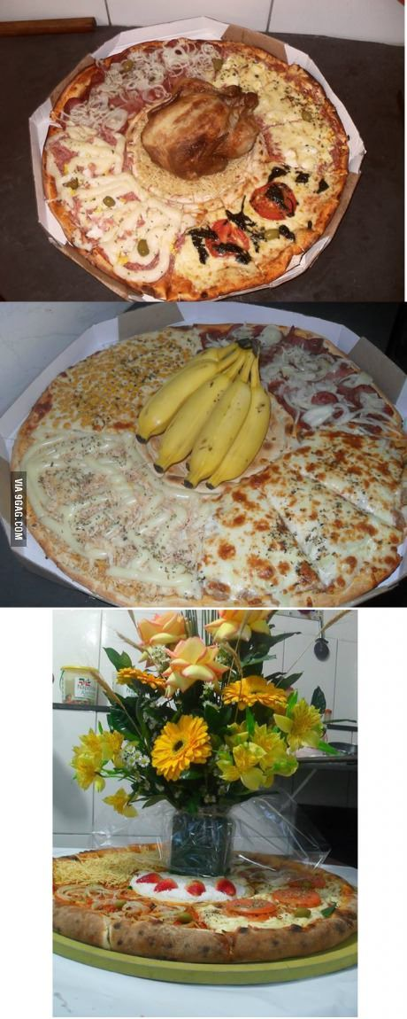 there s a pizza place in sa o paulo brazil who specializes in unusual flavors