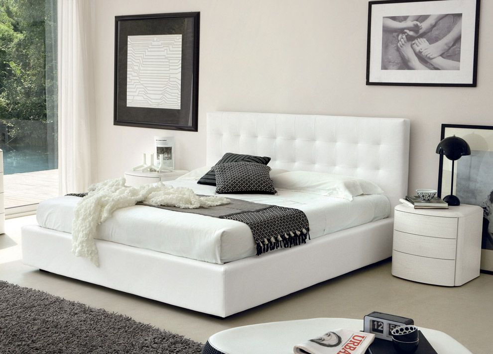 Review wonderful white king size bed with white nightstands Beautiful - Elegant king size bedroom Photos