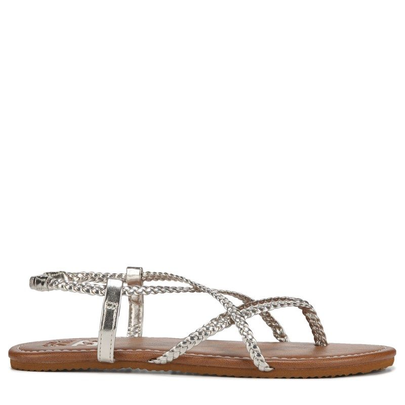 5e15b4bae Billabong Women s Crossing Over Sandals (Platinum Silver) in 2019 ...