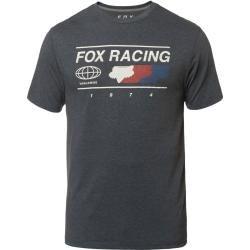 Photo of Fox Global Tech Tee T-Shirt Grau Blau S Fox