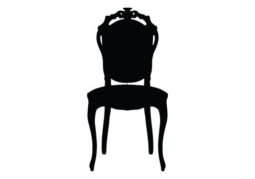 Free Chair Silhouette Vector Download Silhouette Vector Silhouette Clip Art Silhouette Free
