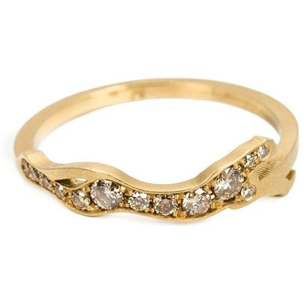 Marc Alary diamond Cheetah Cycle ring - Metallic CuTi014