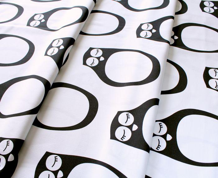 PaaPii Design Owl Black & White