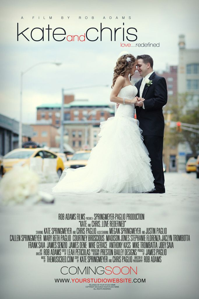 Awesome Wedding Film Poster By Creativelive Instructors Rob Vanessa Http Cr8