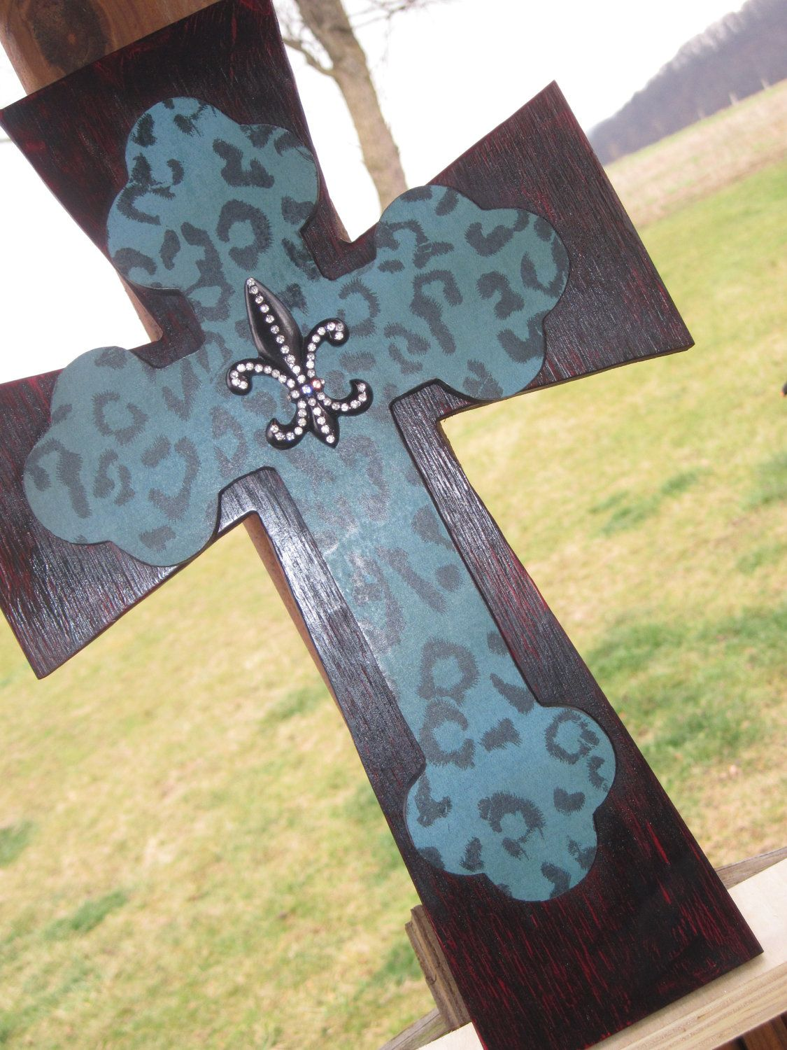 Modern Decorative Wall Cross Image - Wall Art Collections ...