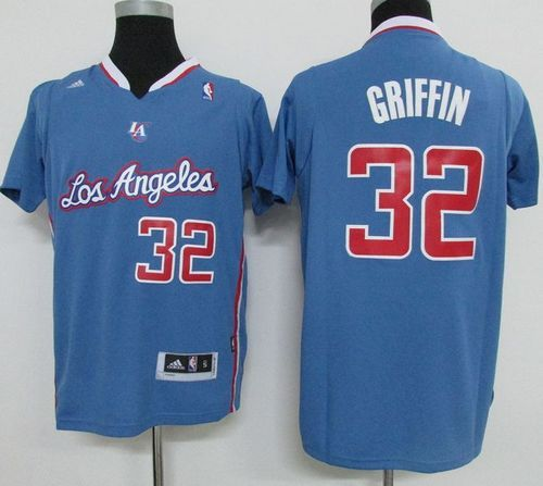 Clippers  32 Blake Griffin Light Blue Pride Swingman Stitched NBA Jersey 7c64dc816a4a
