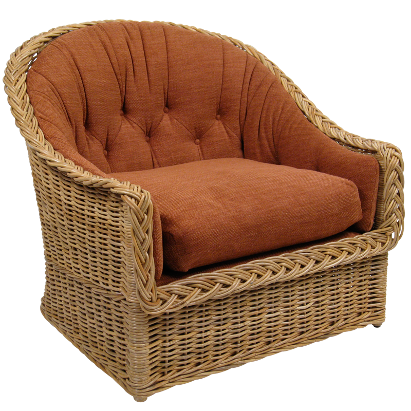 Large Scale Lounge Chair The Wicker Works The Wicker