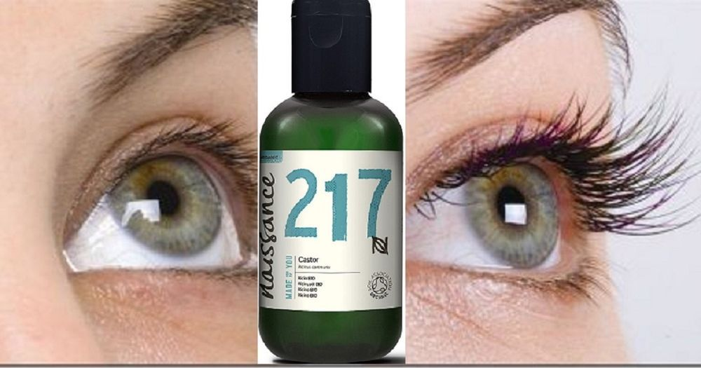 Premium Organic Castor Oil For Eyelashes Eyebrows Hair Growth Face
