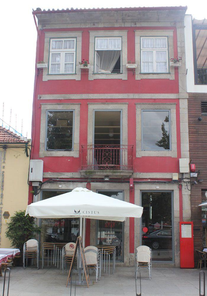 Exterior del Restaurante Bacalhoeiro comer en Oporto