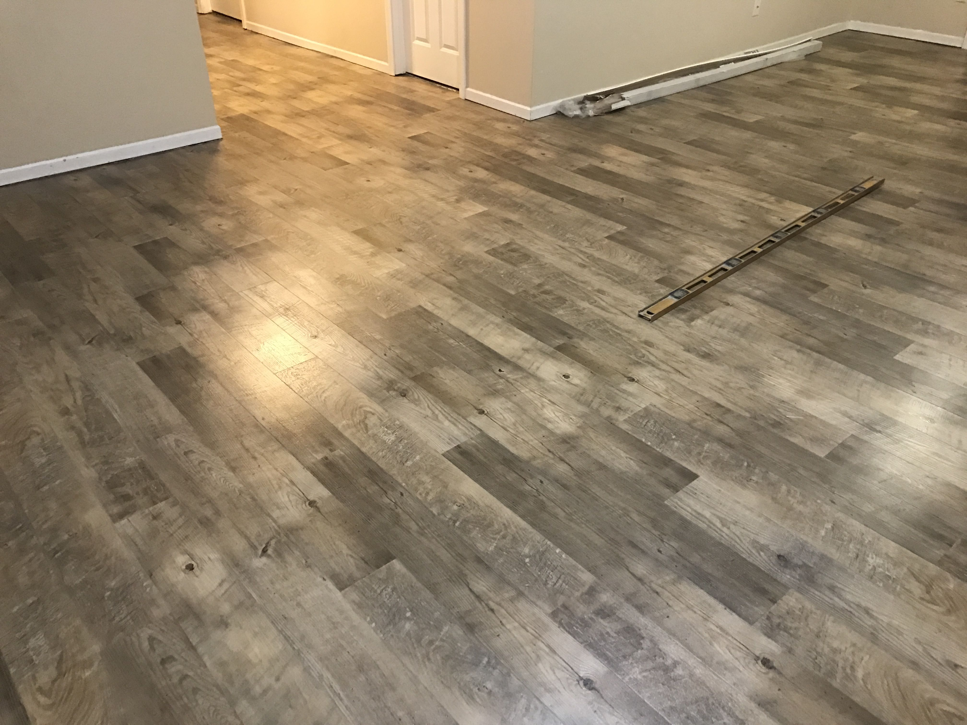 Weathered Pine Installing Vinyl Plank Flooring Vinyl Tile