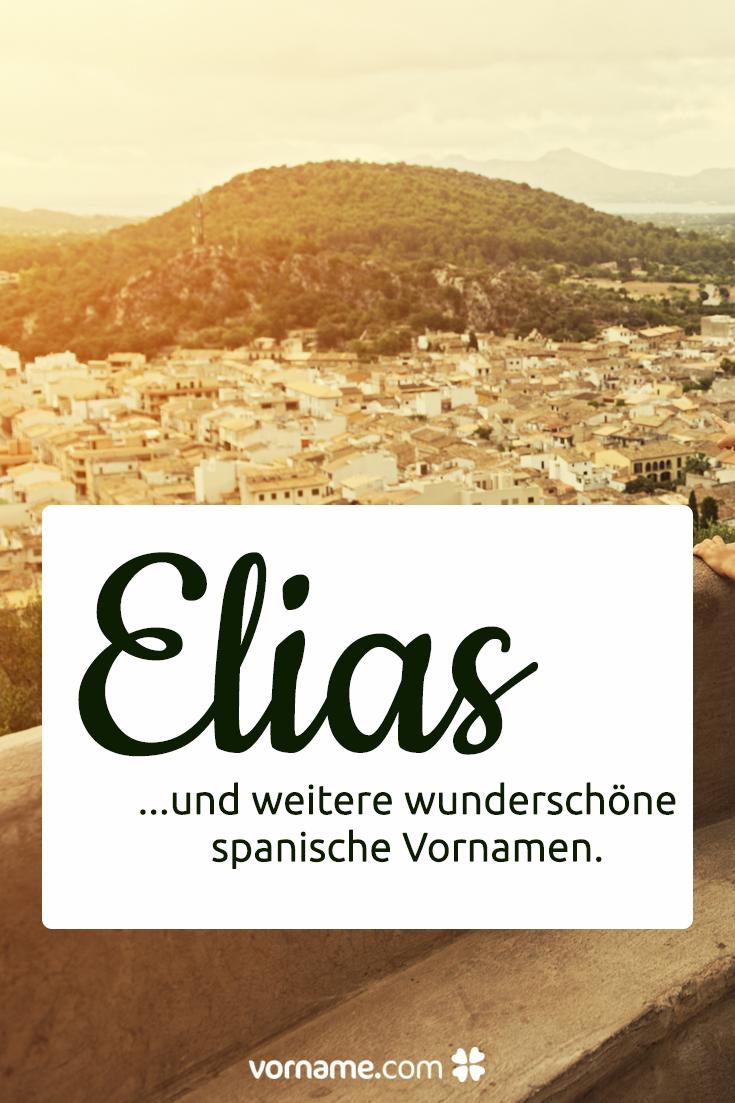 Spanische Namen Mit Bedeutung