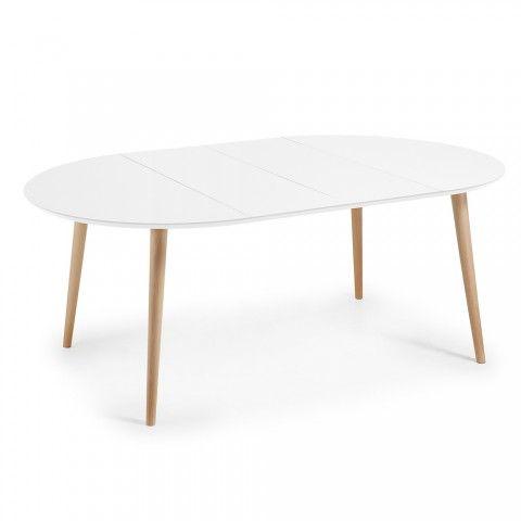 Rund Ausziehbarer Tisch Aus Holz Mit Modernem Design Upama