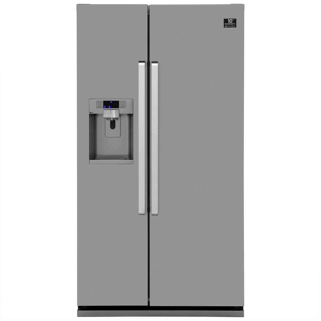 e5a7288e85a3 Samsung G-Series RSG5UCRS Freestanding American Fridge Freezer - Stainless  Steel