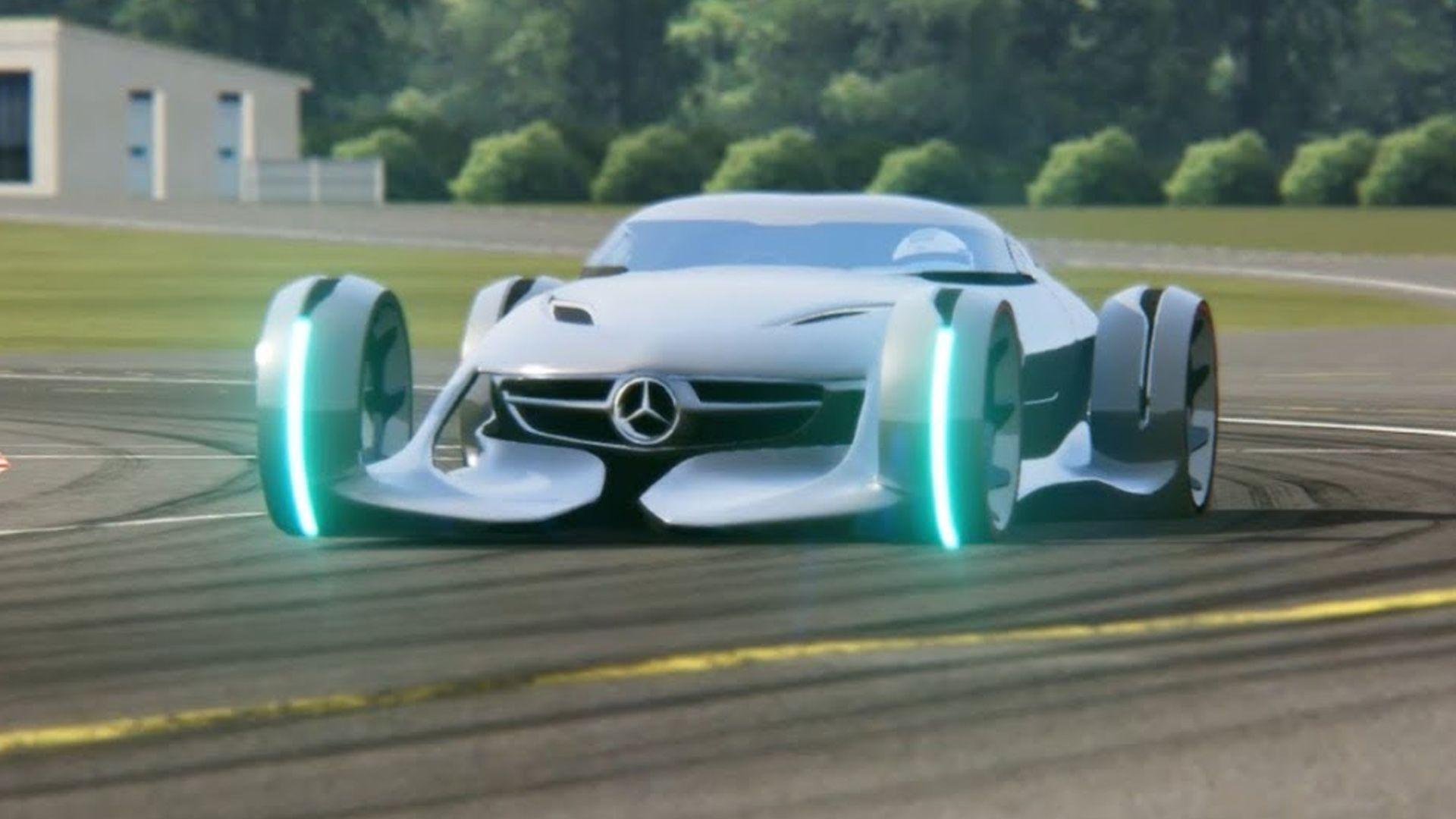 Mercedes Benz Silver Arrow Concept Mercedes Benz Benz Automotive Design