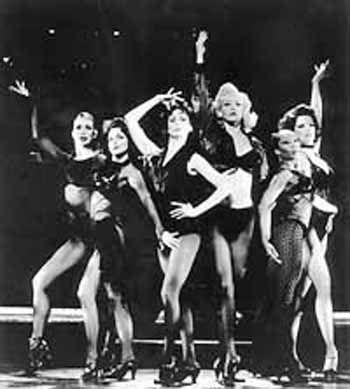 Bob Fosse dancers.....hot, hot, hot