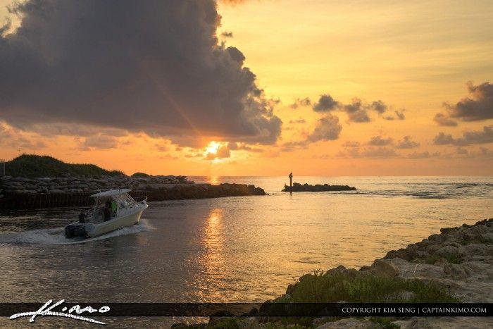 Boca Raton Lifestyle s Ocean Boating Sunrise
