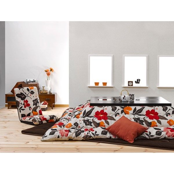 Fu11 Kotatsu Futon Comforter Blanket Rectangle 190x240cm Patchwork Style Cotton Soft Quilt Japanese Table Cover