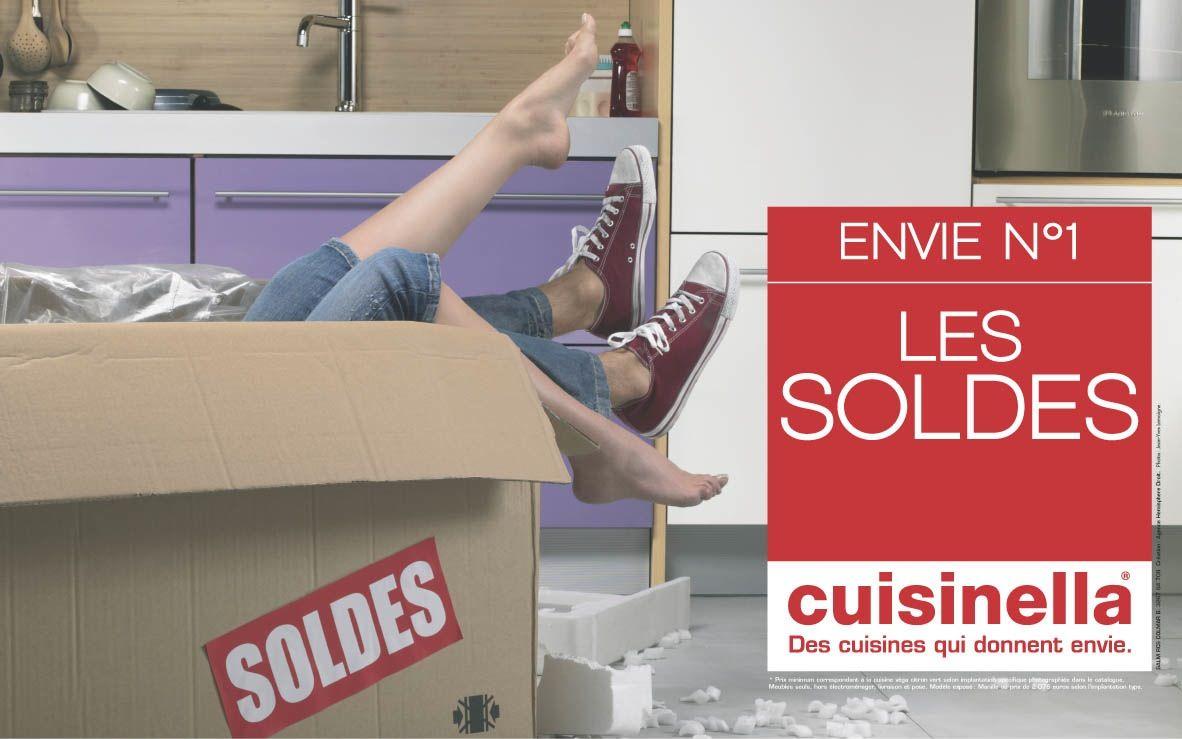 Envie De Soldes Campagne Publicitaire Cuisinella Et Soldes