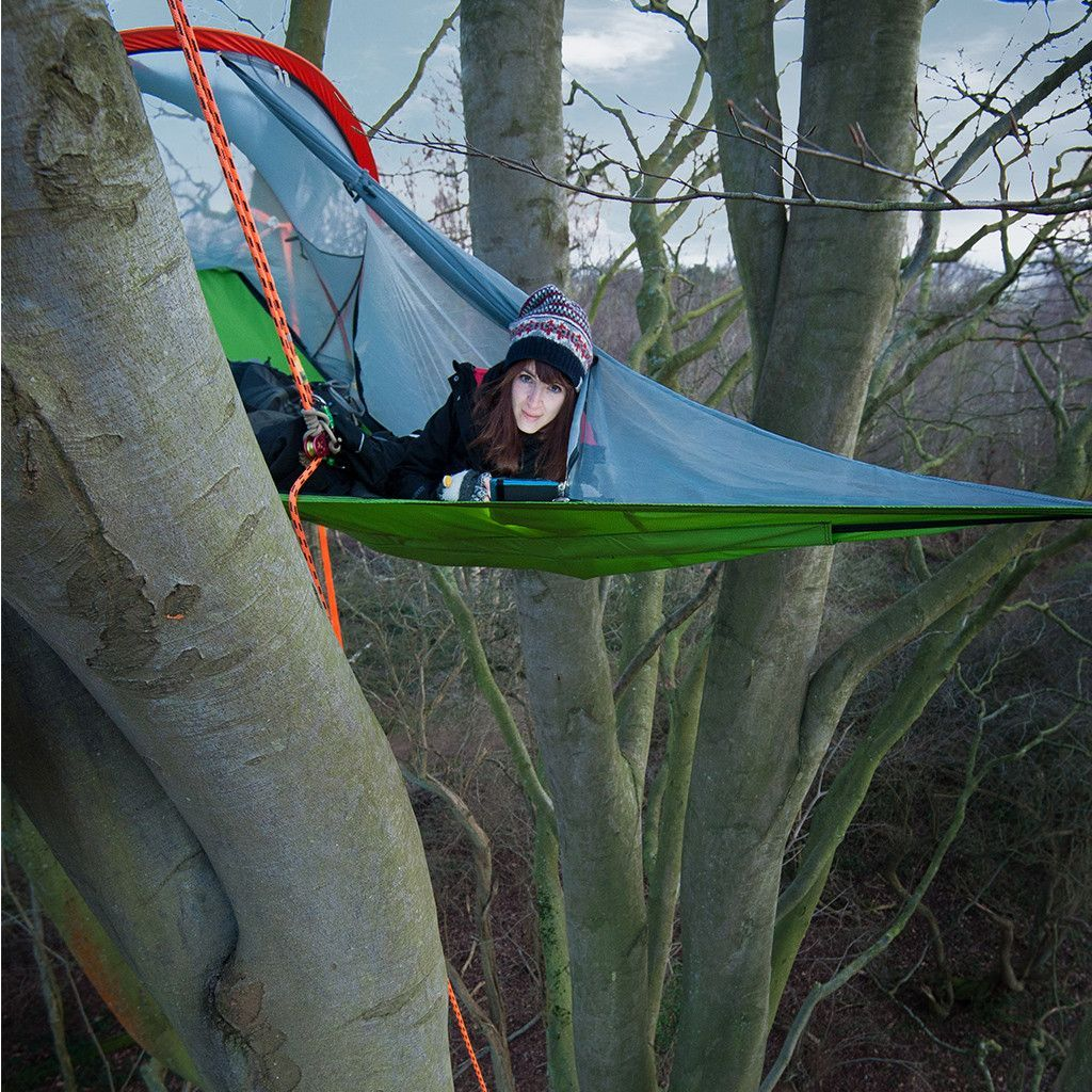 Connect Tree Tent Forest Green Tentsile & Connect Tree Tent: Forest Green: Tentsile | Tree tent Hammock ...