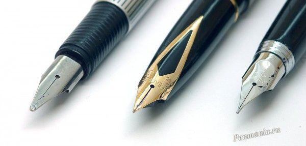 Перьевые ручки Lamy St, Sheaffer Targa и Pilot Tow