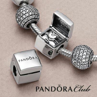 Pandora Secret Heart Gift Box Charm Pandora In 2019