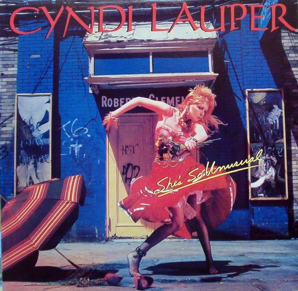 Cyndi Lauper/ She's So Unusual シンディローパー, 洋楽 アルバム, シンディーローパー