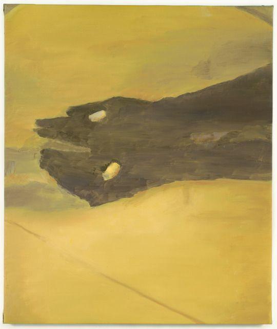 Luc Tuymans (Belgian, b. 1958), Chalk, 2000. Oil on canvas, 72.4 x 61.6 cm.