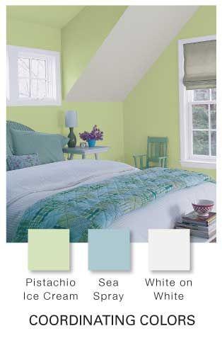 Glidden Pistachio Ice Cream Paint Colors Green Exterior