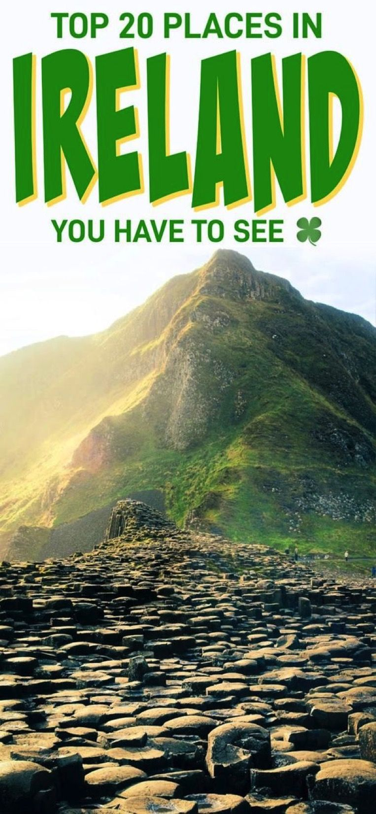 20 Places to See in Ireland