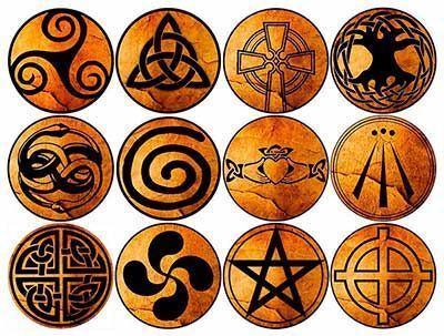 Los Simbolos Celtas Símbolos Celtas Simbolos Celtas Tatuajes Simbolos Druidas