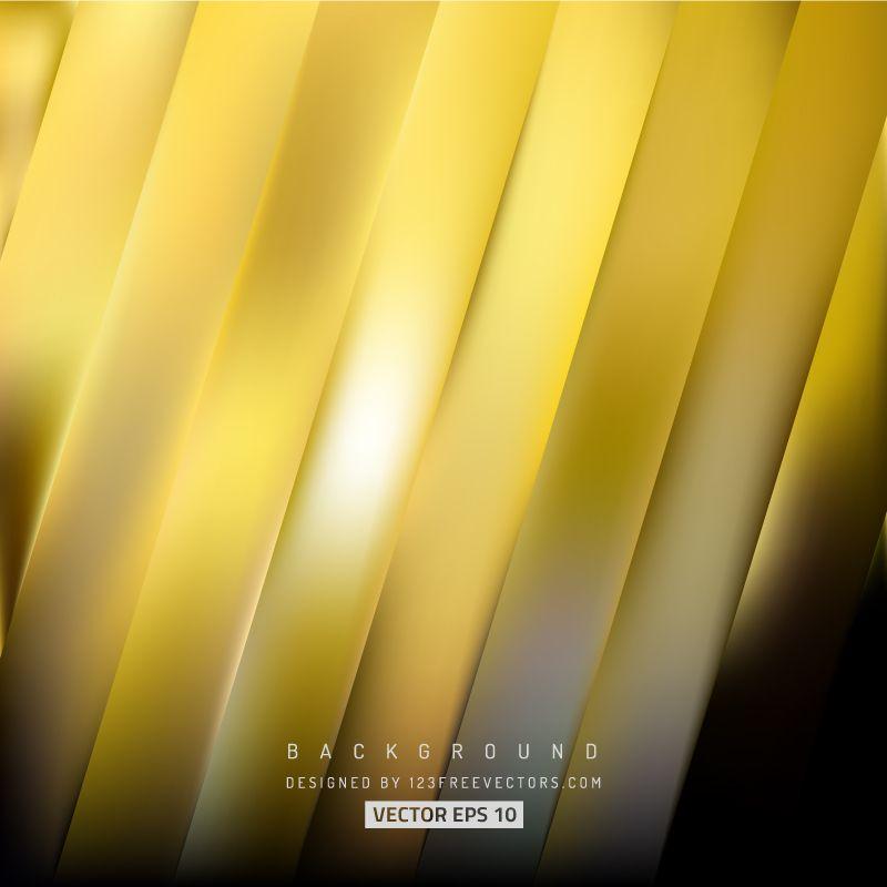 Black Gold Stripes Background Design Gold Background