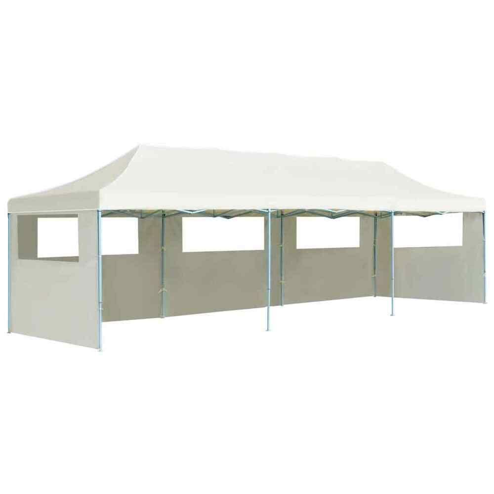 Ebay Sponsored Vidaxl Tente De Reception Pliable 5 Parois 3x9 M