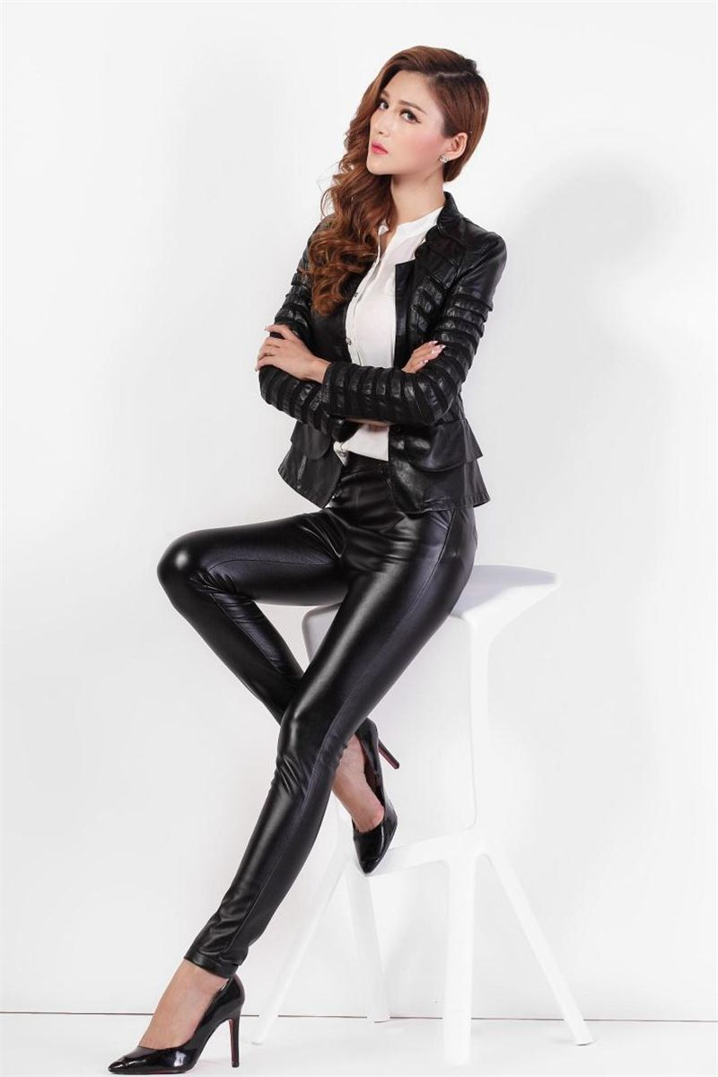 Women In Leather And Boots | Leather Pants | Pinterest | Leather ...