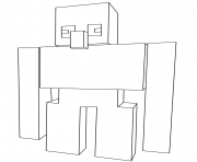 Minecraft Coloring Pages Iron Golem on a budget