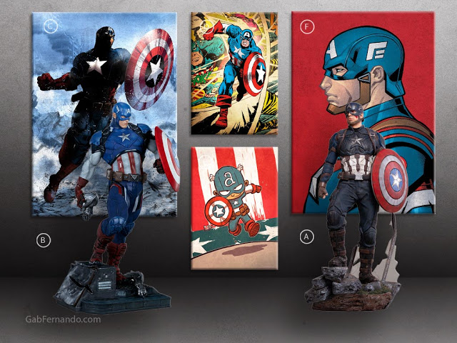 Captain America | Displate thumbnail