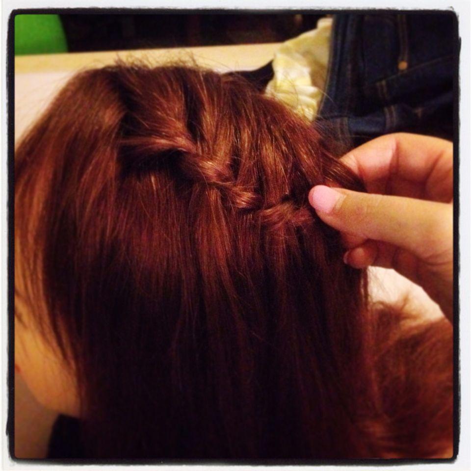 Haare schon stylen