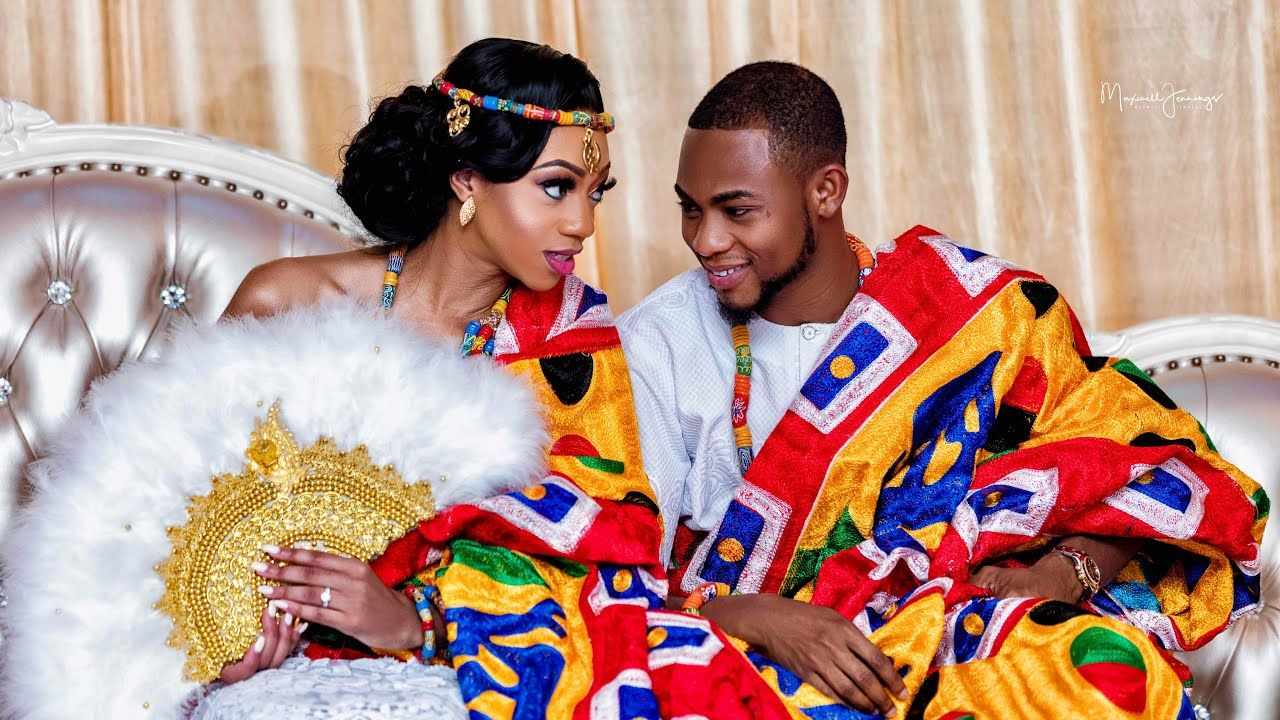 A Beautiful Ghanaian Wedding 2019 Gigi Farouk Part 1 Youtube Ghanaian Wedding Ghana Wedding Ghanaian