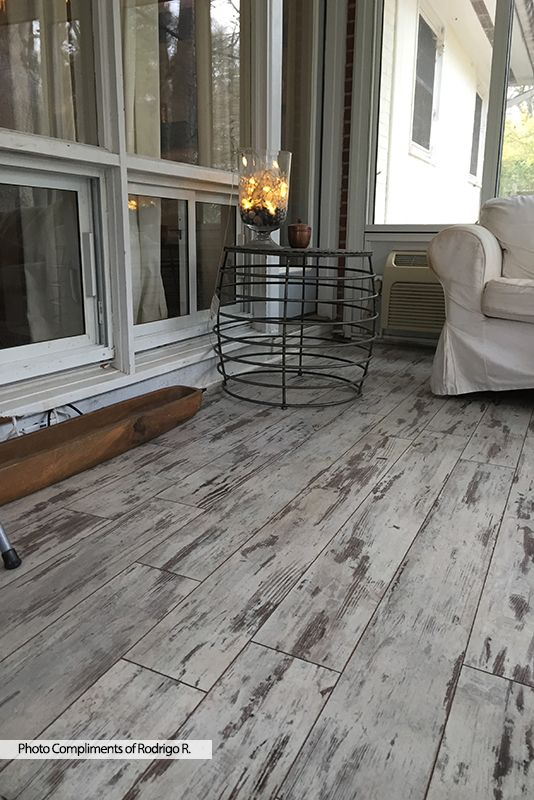 Inspirational Flooring for A Sunroom