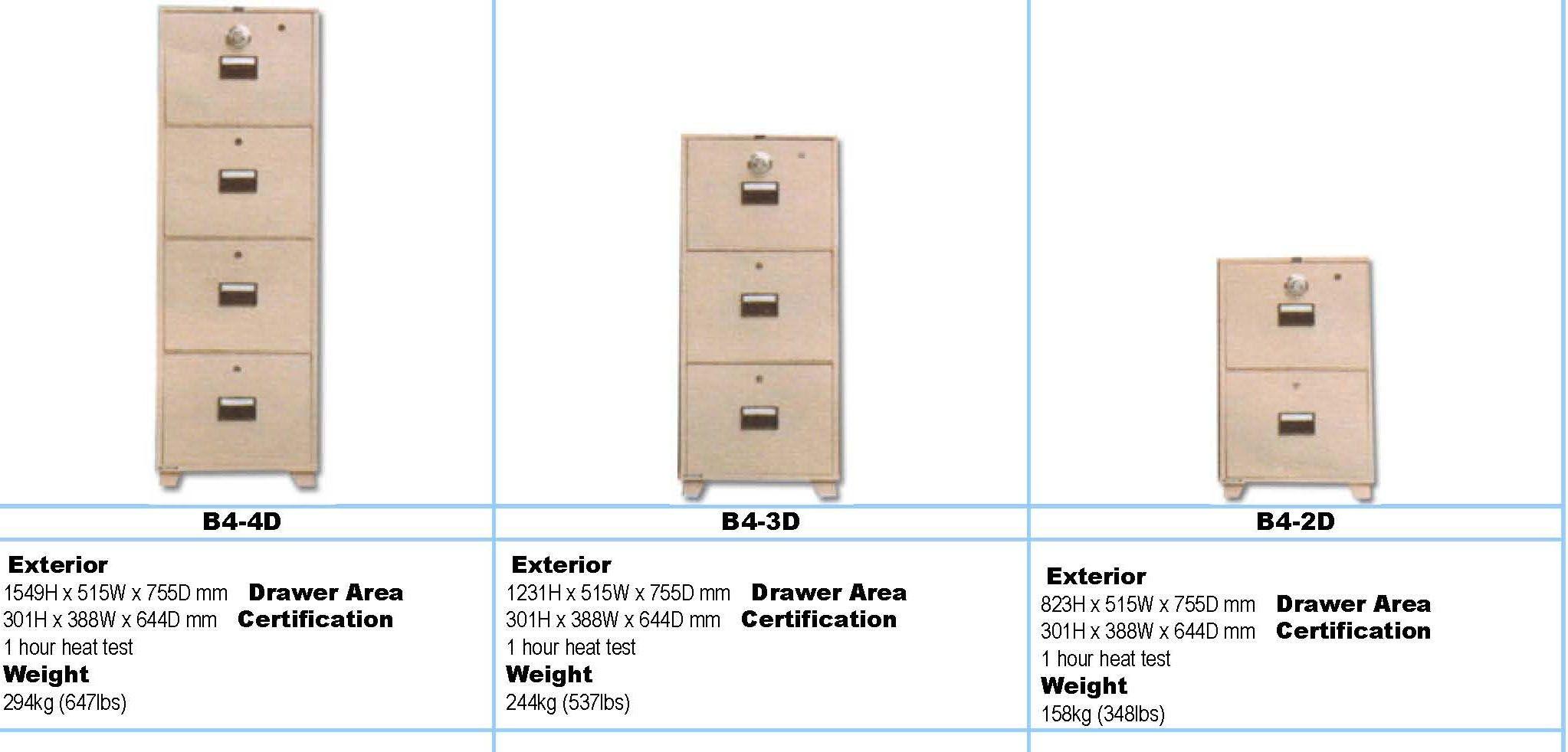 Standard Width Filing Cabinet