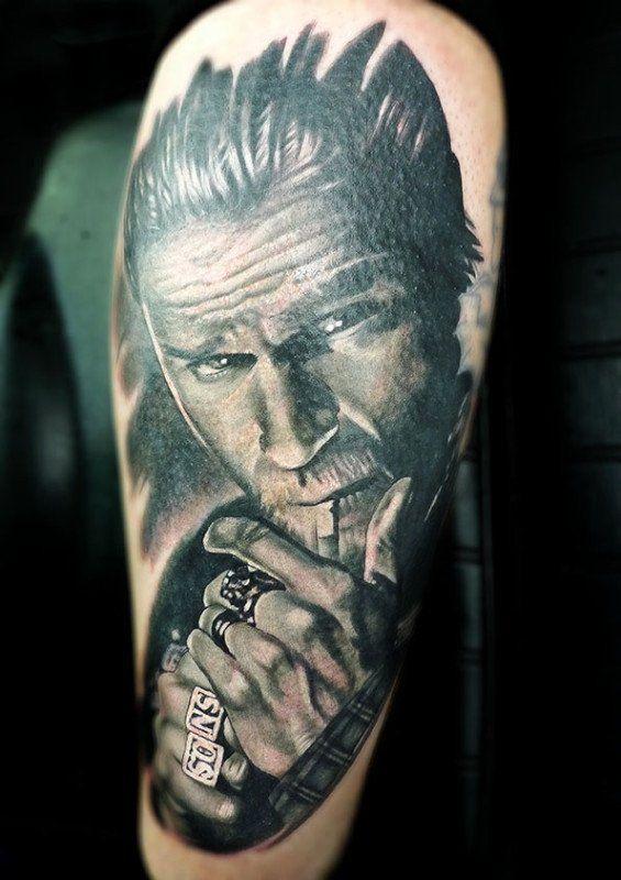 Sons Of Anarchy Tattoos Tatu Znamenitosti