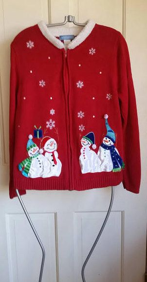snow man christmas sweater ugly christmas sweater womens