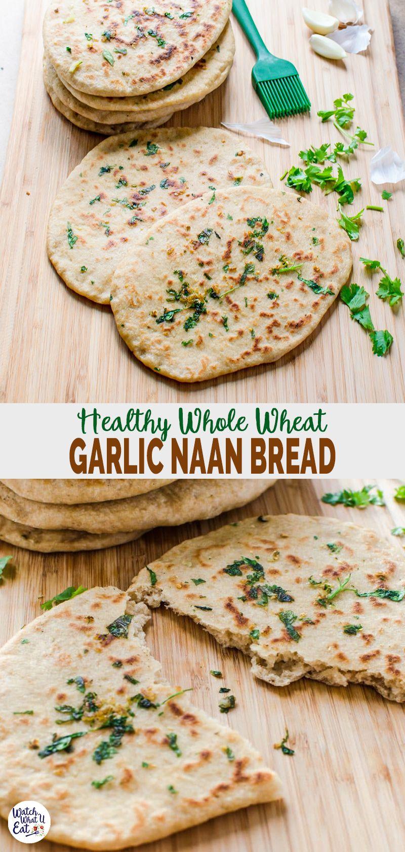 Garlic Naan Bread Recipe Recipe Recipes With Naan Bread Naan Bread Recipes