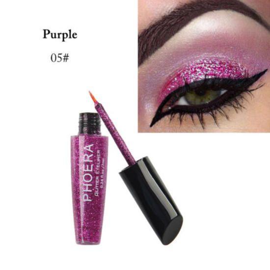 bb00fe47907 PHOERA Glitters Liquid Dip Eyeliner Sparkly Eye Liner Makeup Cosmetics  Shadow DZ#Dip#Eyeliner#Sparkly