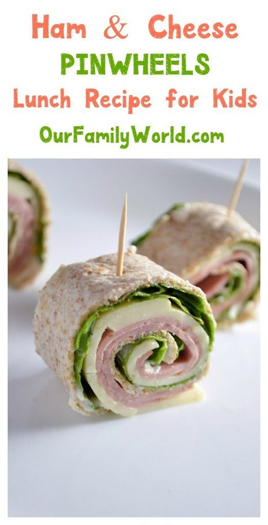 want to make back to school lunch recipes fun and healthy try these cute ham cheese pinwheel sandwiches