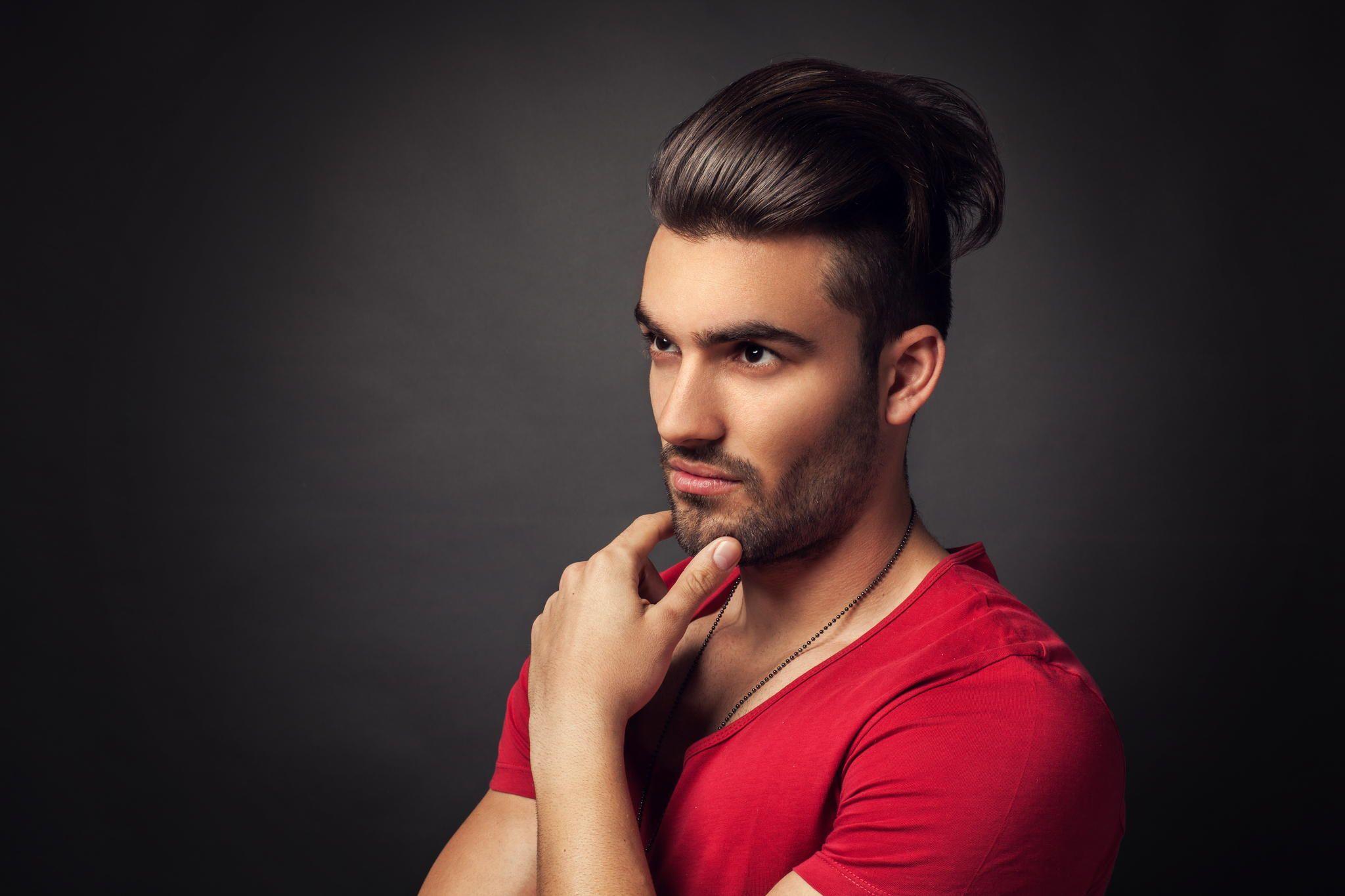 тогда мужские прически для парикмахерской фото рынки пестрят