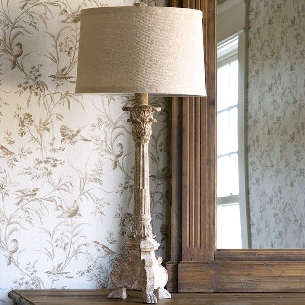 Decorating For Fall With Farmhouse Finds Town Country Living Country Table Lamp Rustic Table Lamps French Country Tables