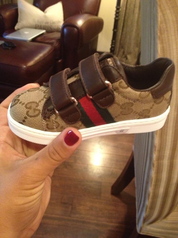 gucci baby sneaks  ) My baby will have these Zapatillas De Bebe 9de4501d449
