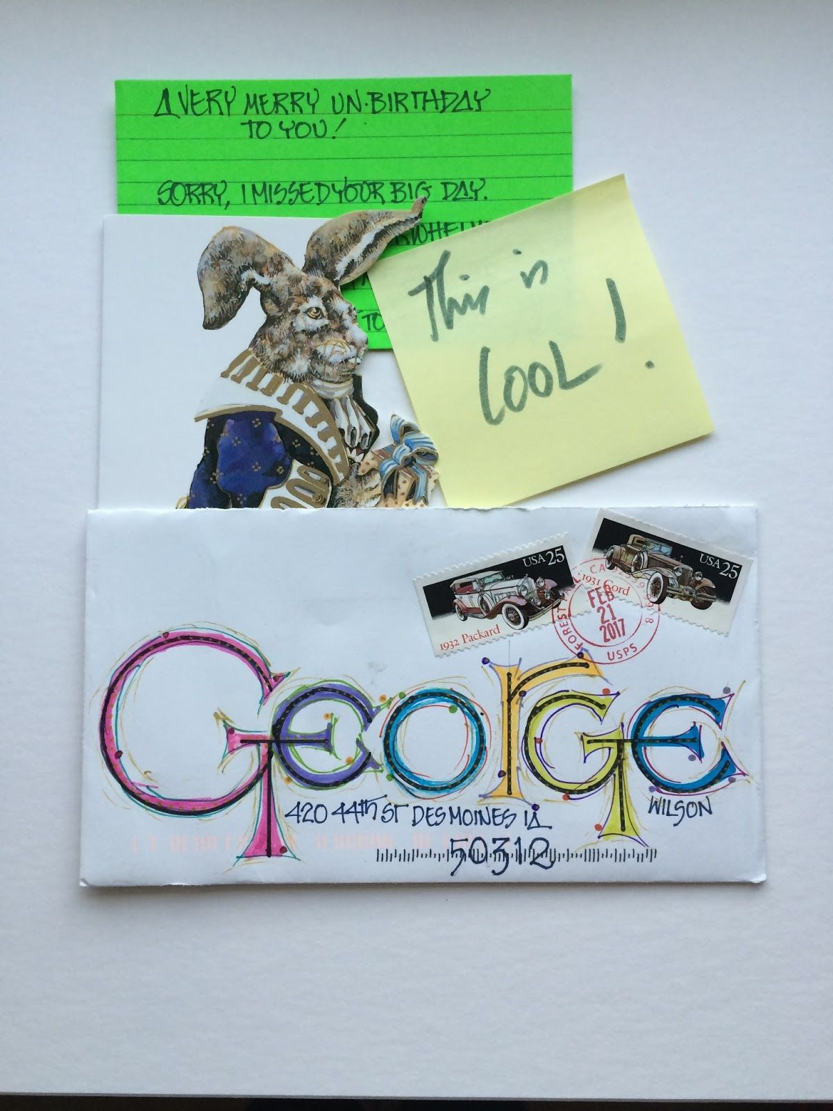 decorated envelopes ma…